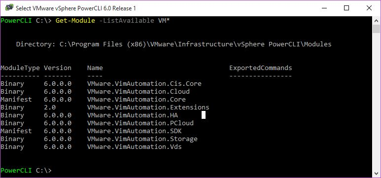 Wednesday Tidbit: Using PowerCLI extensions fling to