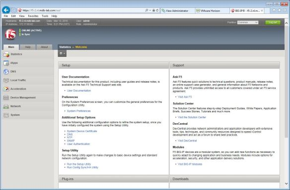 Implementing a VMware Virtual Desktop Infrastructure with