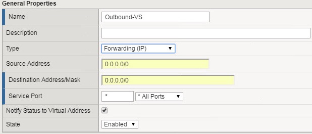 Wednesday Tidbit: F5 basics – creating an outbound virtual